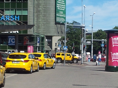 Taksod Stockmanni juures