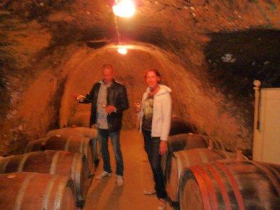 Veinikeldris veini maitsmas