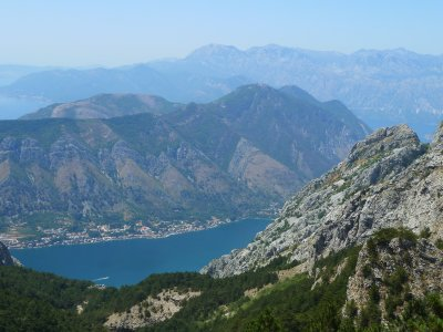 Peale pikka rassimist avanes imeilus vaade Kotori lahele