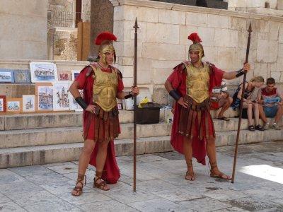 Rooma sõdurid valvepostil
